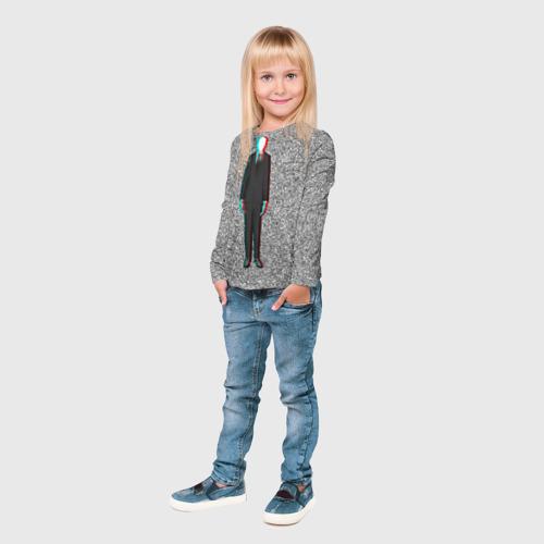 Детский лонгслив 3D  Фото 04, Слендер