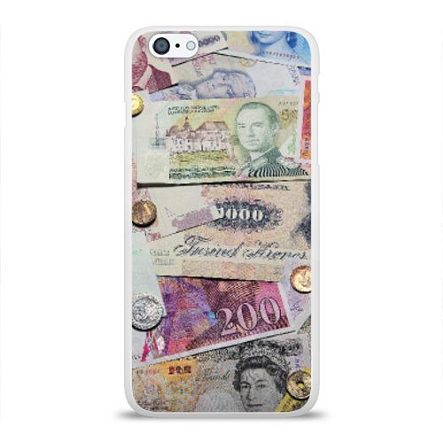 Чехол для Apple iPhone 6Plus/6SPlus силиконовый глянцевый  Фото 01, Pounds