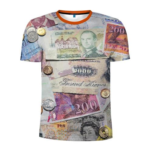 Мужская футболка 3D спортивная Pounds