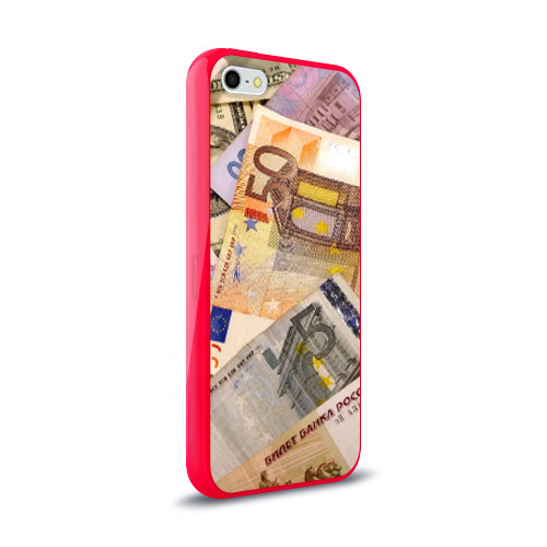 Чехол для iPhone 5/5S глянцевый Money Фото 01