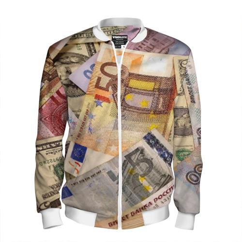 Мужской бомбер 3D Money