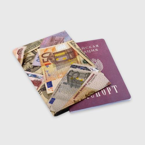 Обложка для паспорта матовая кожа  Фото 03, Money