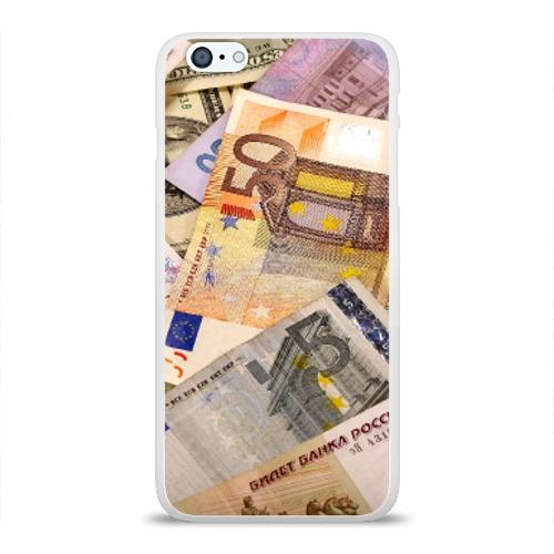 Чехол для Apple iPhone 6Plus/6SPlus силиконовый глянцевый  Фото 01, Money