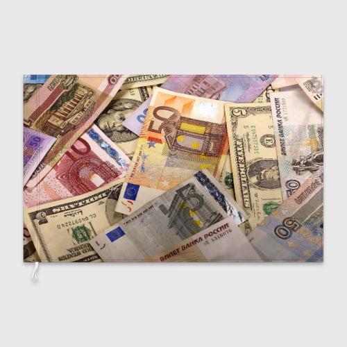 Флаг 3D Money Фото 01