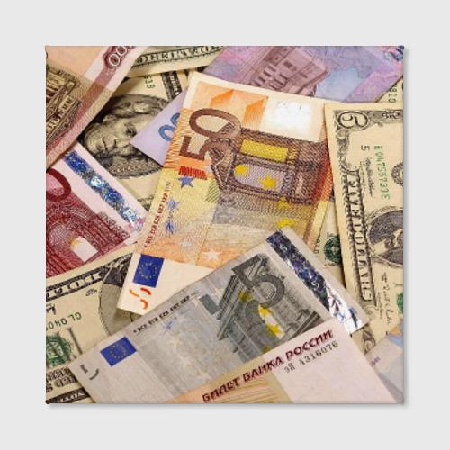 Холст квадратный Money Фото 01