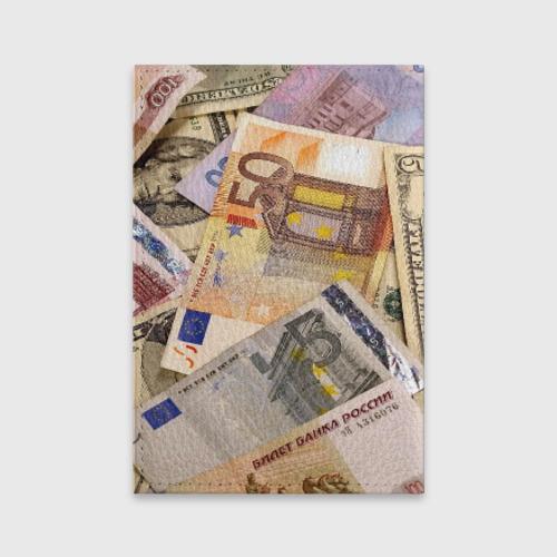 Обложка для паспорта матовая кожа  Фото 02, Money