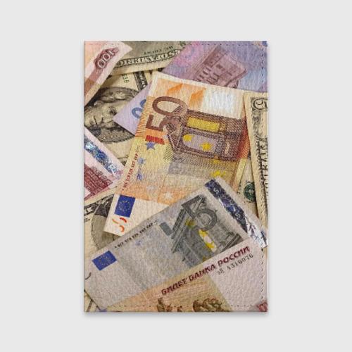 Обложка для паспорта матовая кожа  Фото 01, Money