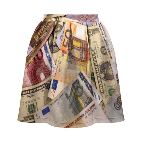 Юбка-солнце 3D Money Фото 01