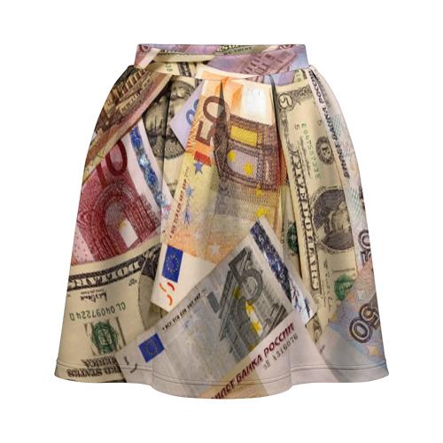 Юбка-солнце 3D Money