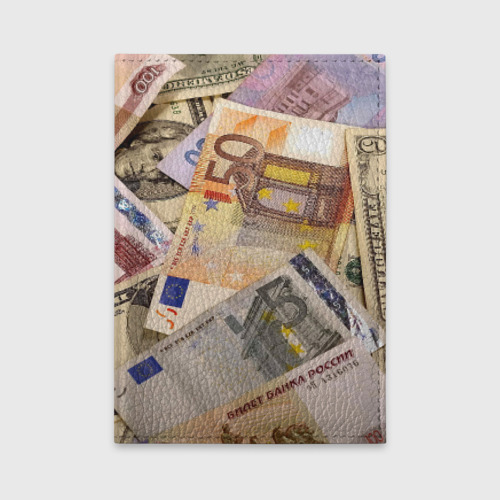 Обложка для автодокументов Money Фото 01
