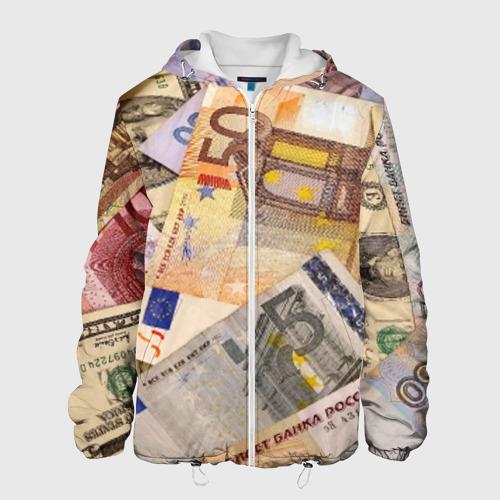 Мужская куртка 3D Money Фото 01