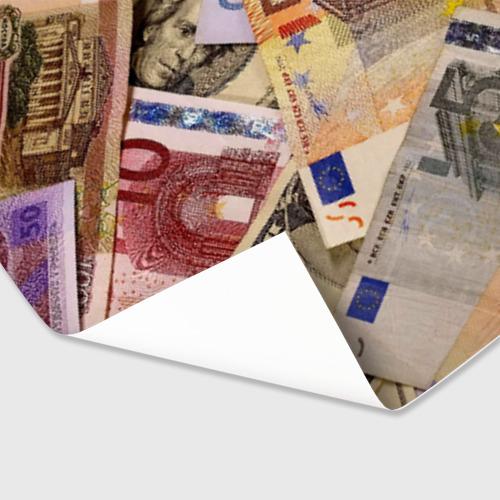 Бумага для упаковки 3D Money Фото 01