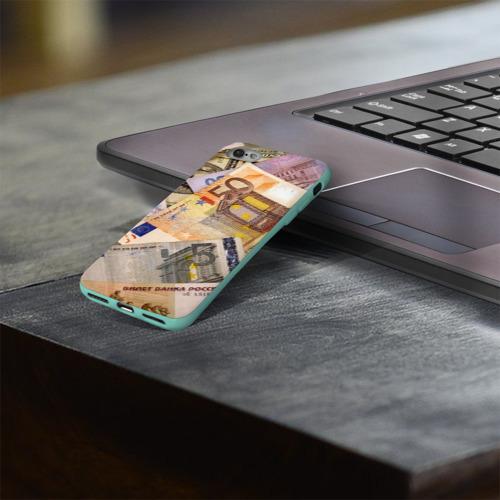 Чехол для Apple iPhone 8 силиконовый глянцевый Money Фото 01
