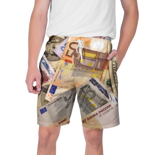Мужские шорты 3D Money Фото 01