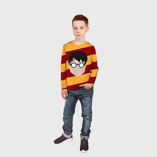 Детский лонгслив 3D  Фото 05, Гарри Поттер