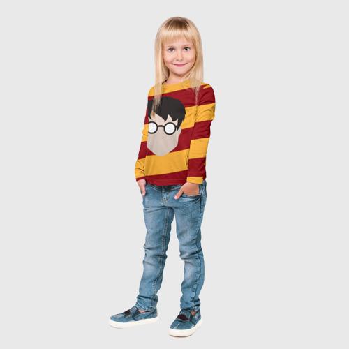 Детский лонгслив 3D  Фото 04, Гарри Поттер