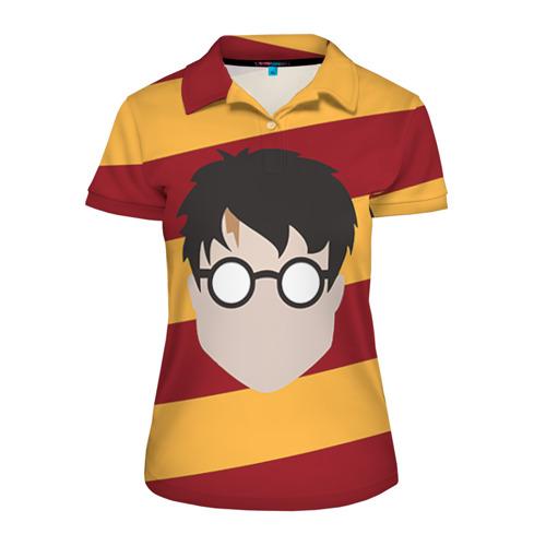 Женская рубашка поло 3D Мальчик