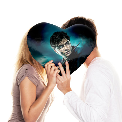 Подушка 3D сердце  Фото 03, Гарри Поттер