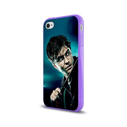 Чехол для Apple iPhone 4/4S силиконовый глянцевый  Фото 03, Гарри Поттер