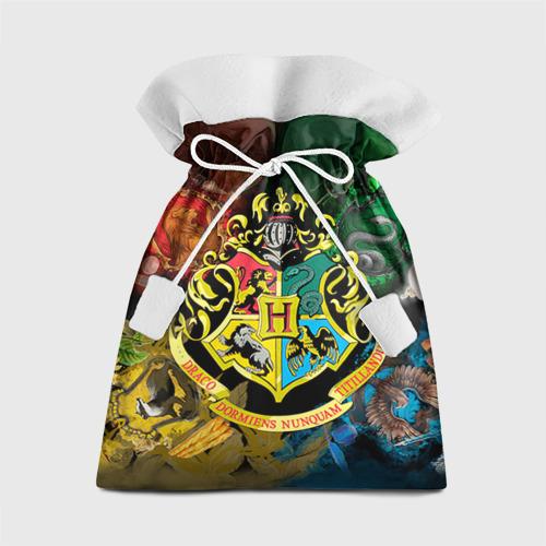 Подарочный 3D мешок Хогвартс