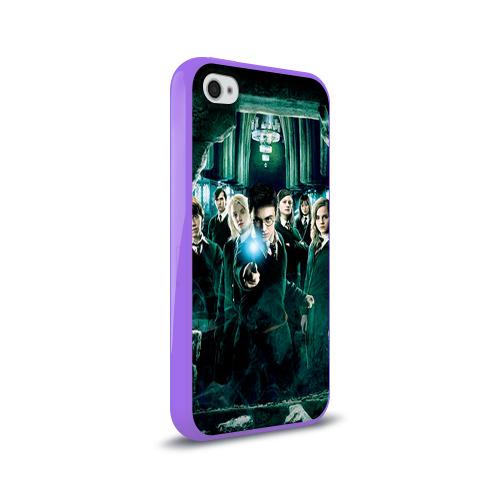 Чехол для Apple iPhone 4/4S силиконовый глянцевый  Фото 02, Гарри Поттер
