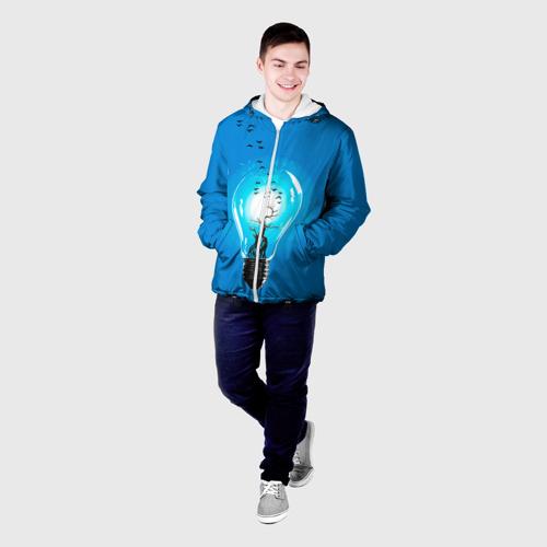 Мужская куртка 3D  Фото 03, Лампочка