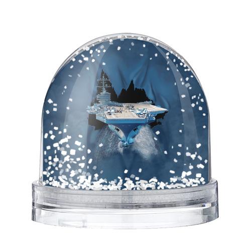 Водяной шар со снегом Авианосец
