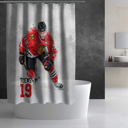Штора 3D для ванной Джонатан Тэйвз Фото 01