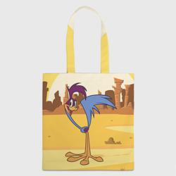 Птичка в пустыне