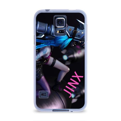 Чехол для Samsung Galaxy S5 силиконовый  Фото 01, Jinx