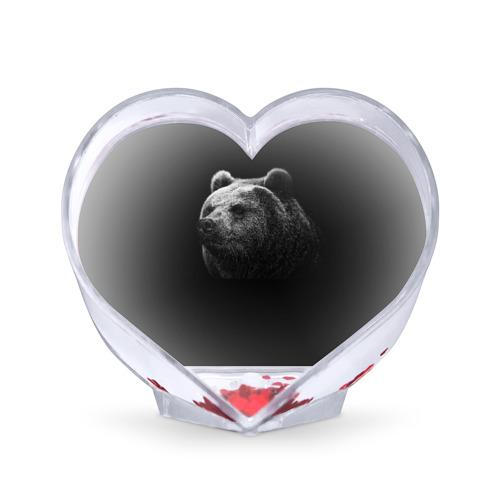 Сувенир Сердце  Фото 01, Мишка
