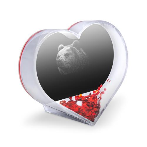 Сувенир Сердце  Фото 03, Мишка