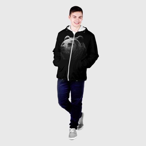 Мужская куртка 3D  Фото 03, Мишка