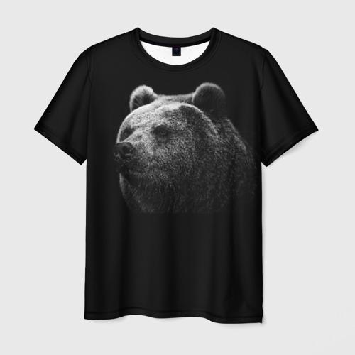 Мужская футболка 3D  Фото 03, Мишка
