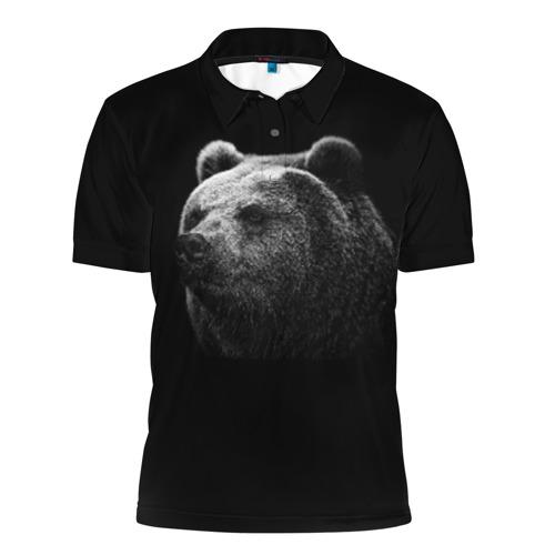 Мужская рубашка поло 3D Мишка
