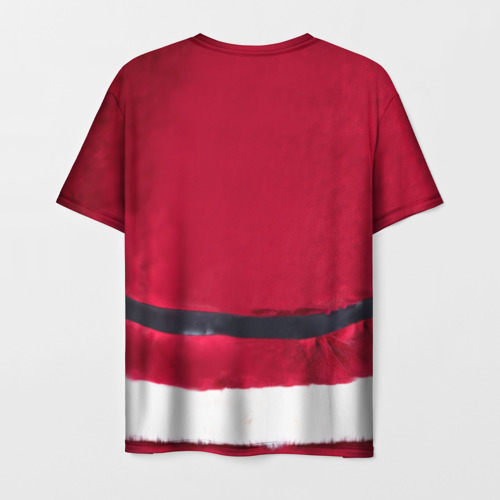 Мужская футболка 3D Костюм Деда Мороза Фото 01