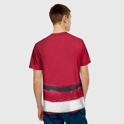 Мужская футболка 3D  Фото 02, Костюм Деда Мороза