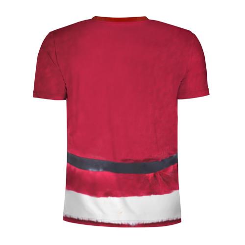 Мужская футболка 3D спортивная Костюм Деда Мороза Фото 01