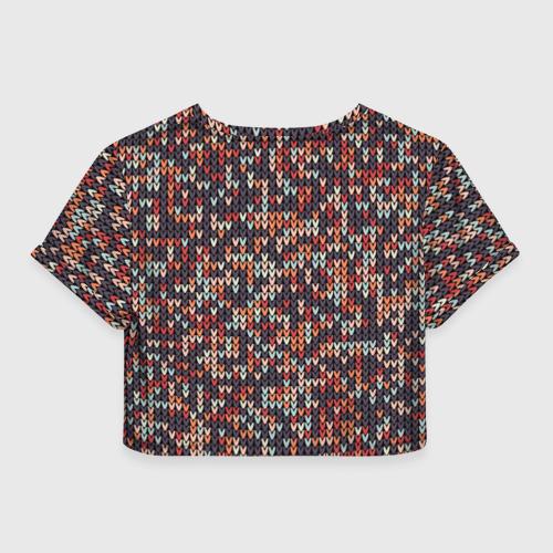 Женская футболка 3D укороченная  Фото 02, Свитер