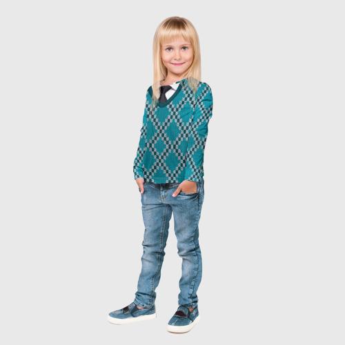 Детский лонгслив 3D  Фото 04, Свитер