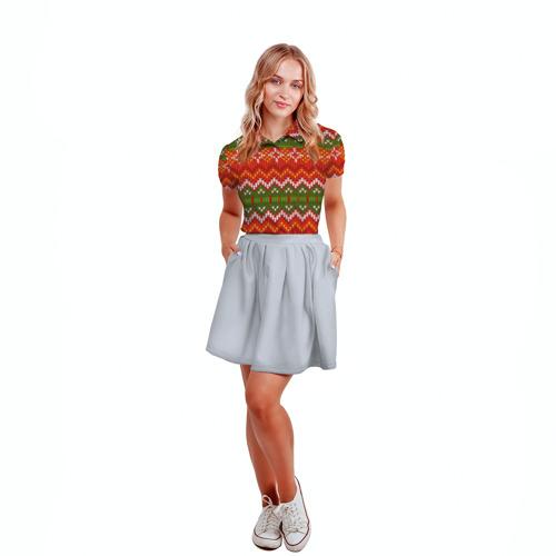 Женская рубашка поло 3D  Фото 04, Свитер