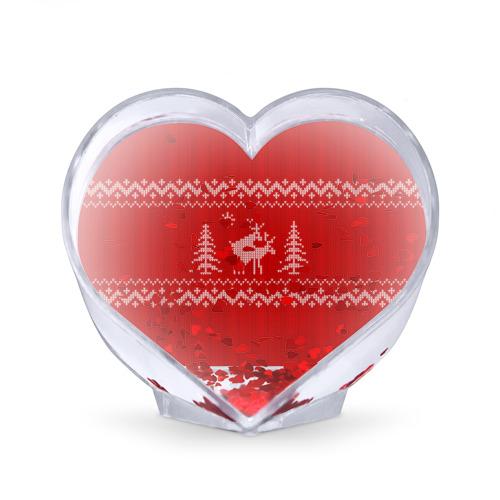 Сувенир Сердце  Фото 02, Свитер с оленями