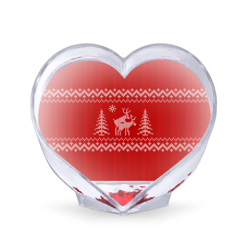 Сувенир Сердце  Фото 01, Свитер с оленями