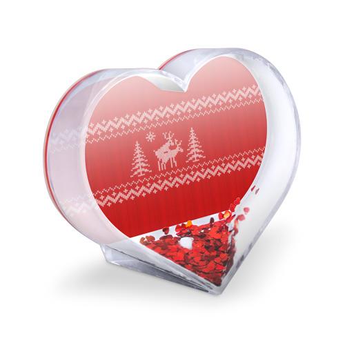 Сувенир Сердце  Фото 03, Свитер с оленями