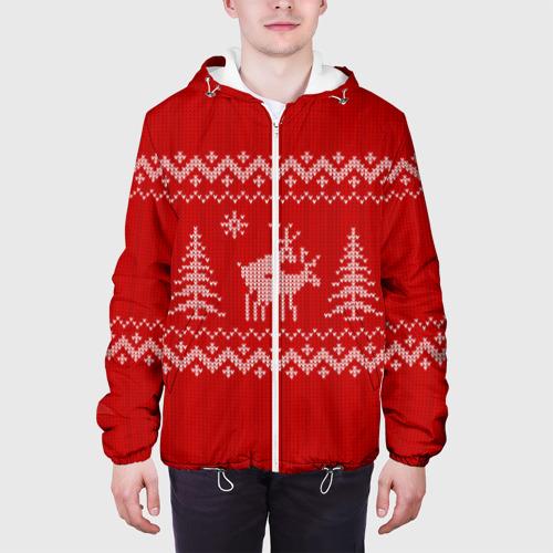 Мужская куртка 3D  Фото 04, Свитер с оленями