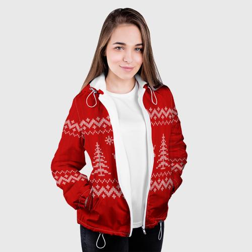 Женская куртка 3D  Фото 04, Свитер с оленями