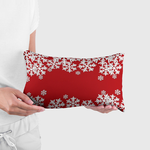 Подушка 3D антистресс  Фото 03, Снежинки