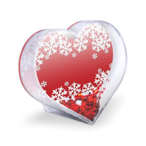Сувенир Сердце  Фото 03, Снежинки
