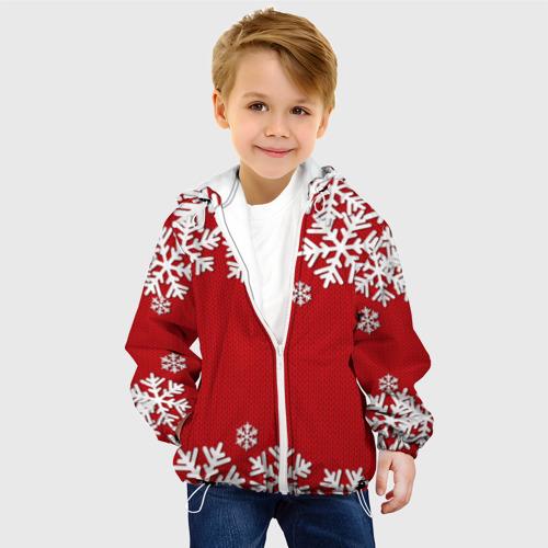 Детская куртка 3D Снежинки Фото 01