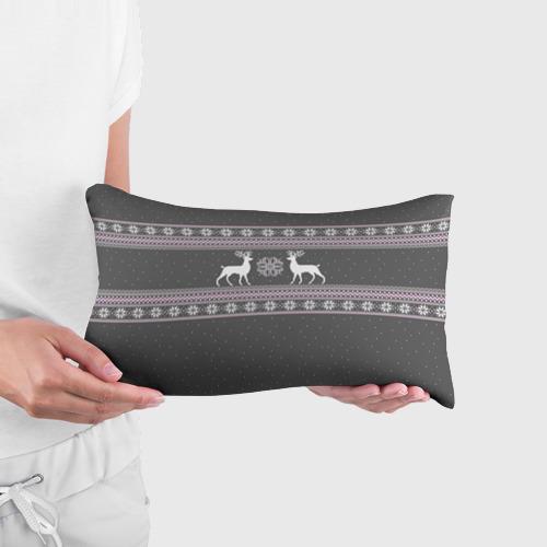 Подушка 3D антистресс Свитер с оленями Фото 01